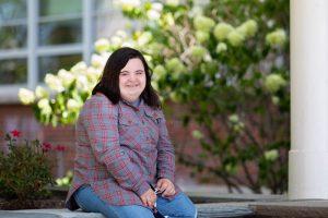 Grace McDonald on the syracuse campus